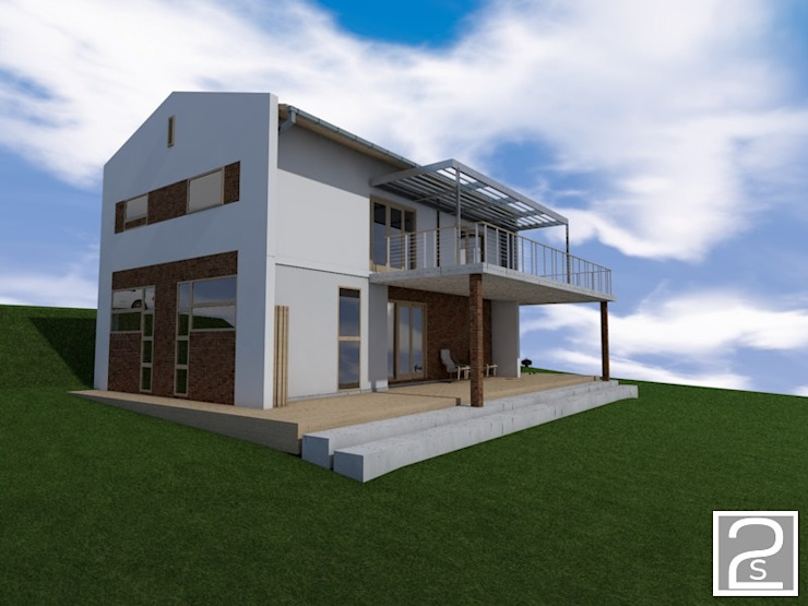 Exterior proposed holiday home by Second Studio Design