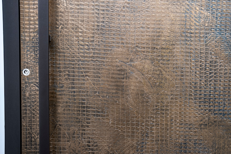 TEXTURED BRONZE FINISH RK Door Systems Pintu