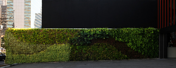 Vertical Garden - Jardim Vertical e Paisagismo Corporativo Garden Fencing & walls
