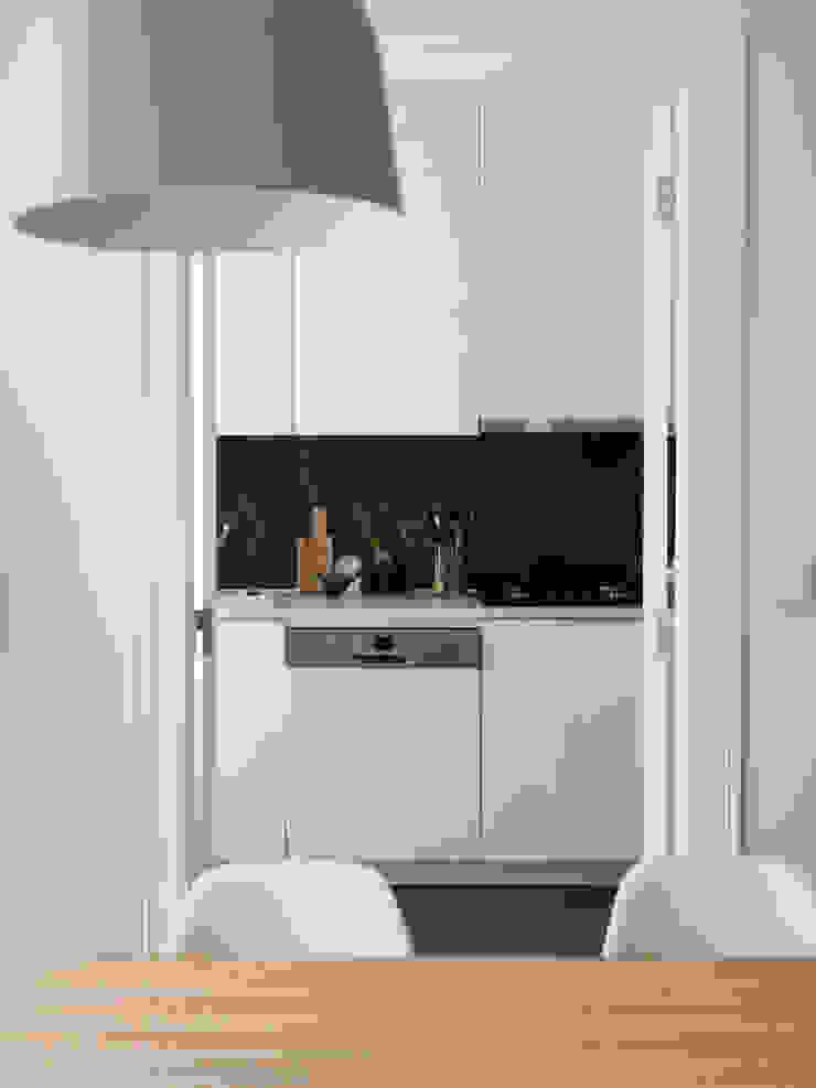 Sala Comum MUDA Home Design Cozinhas escandinavas