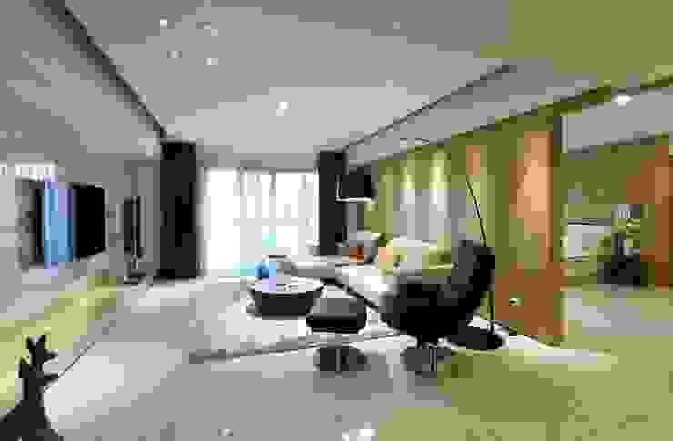 花賞 Scandinavian style living room by 雅群空間設計 Scandinavian