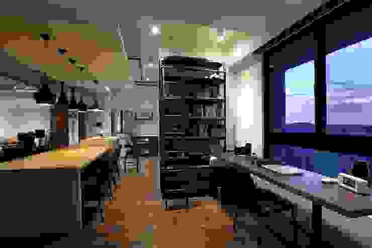 インダストリアルデザインの 書斎 の 雅群空間設計 インダストリアル