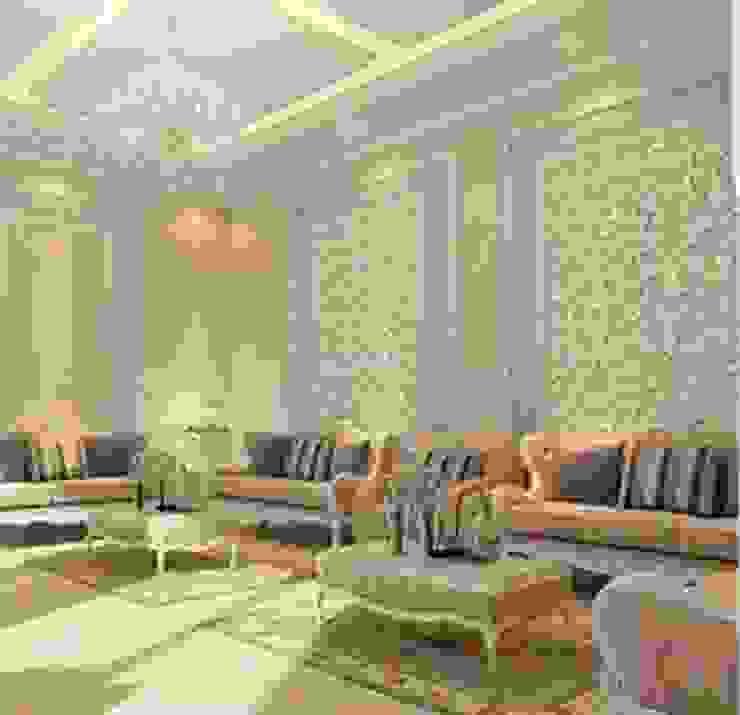 كاسل للإستشارات الهندسية وأعمال الديكور والتشطيبات العامة 客廳配件與裝飾品 棉 Brown