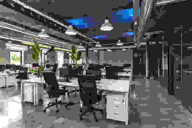 OFICINAS NPAW ESTUDIO DE CREACIÓN JOSEP CANO, S.L. Edificios de oficinas de estilo moderno