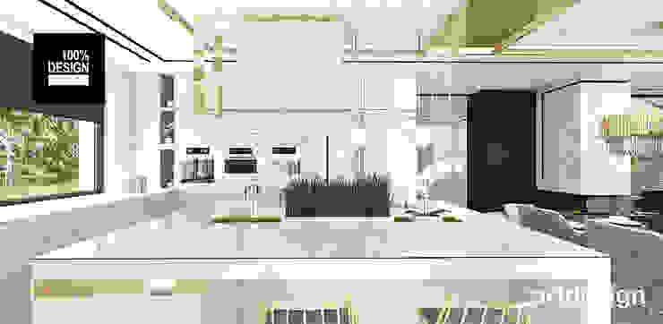 nowoczesna kuchnia Eklektyczna kuchnia od ARTDESIGN architektura wnętrz Eklektyczny