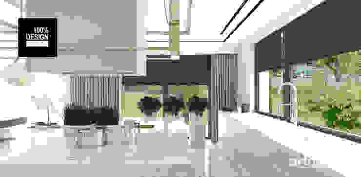 elegancka aranżacja kuchni Eklektyczna kuchnia od ARTDESIGN architektura wnętrz Eklektyczny