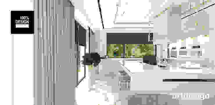 projekt wnętrza kuchni Eklektyczna kuchnia od ARTDESIGN architektura wnętrz Eklektyczny