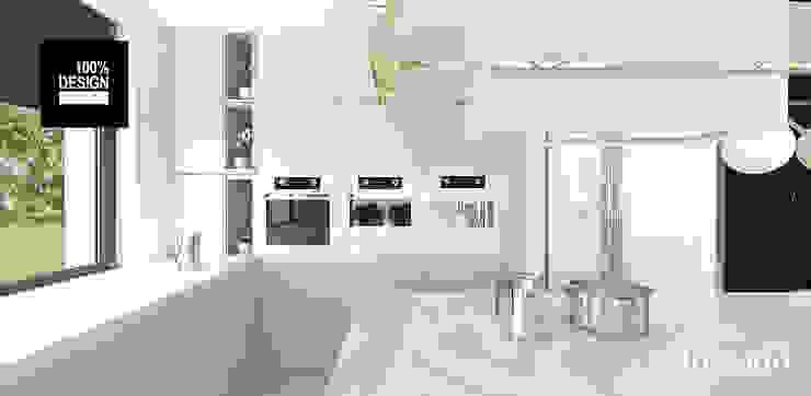wygodna luchnia Eklektyczna kuchnia od ARTDESIGN architektura wnętrz Eklektyczny