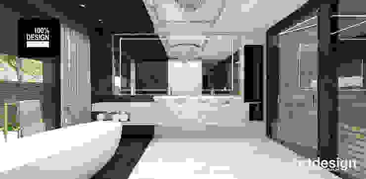 elegancka łazienka Eklektyczna łazienka od ARTDESIGN architektura wnętrz Eklektyczny