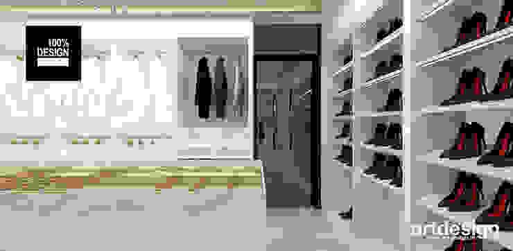 piękna garderoba Eklektyczna garderoba od ARTDESIGN architektura wnętrz Eklektyczny