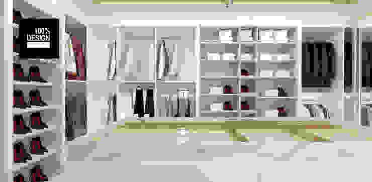 aranżacja garderoby Eklektyczna garderoba od ARTDESIGN architektura wnętrz Eklektyczny
