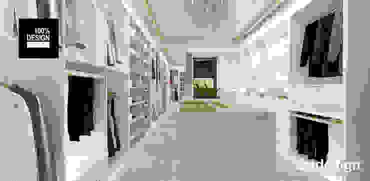 projekt garderoby Eklektyczna garderoba od ARTDESIGN architektura wnętrz Eklektyczny