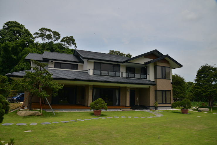 日式鋼骨結構-風城寶山 根據 翔霖營造有限公司 現代風