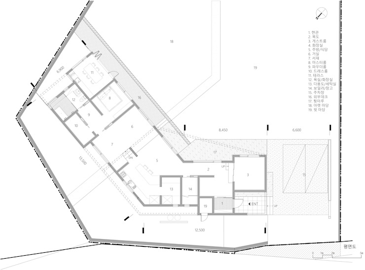 곤지암 단독주택-'품': (주)건축사사무소 더함 / ThEPLus Architects의 현대 ,모던