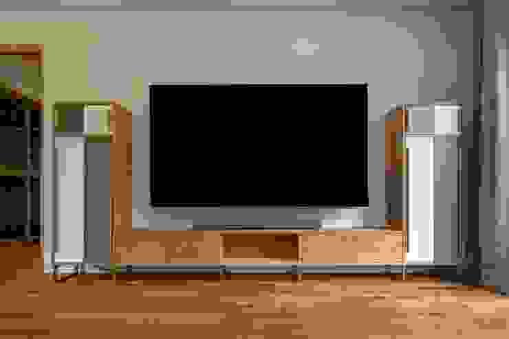 (주)건축사사무소 더함 / ThEPLus Architects 客廳電視櫃