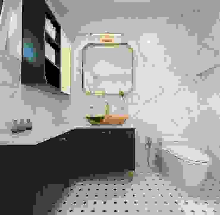 (주)건축사사무소 더함 / ThEPLus Architects 現代浴室設計點子、靈感&圖片