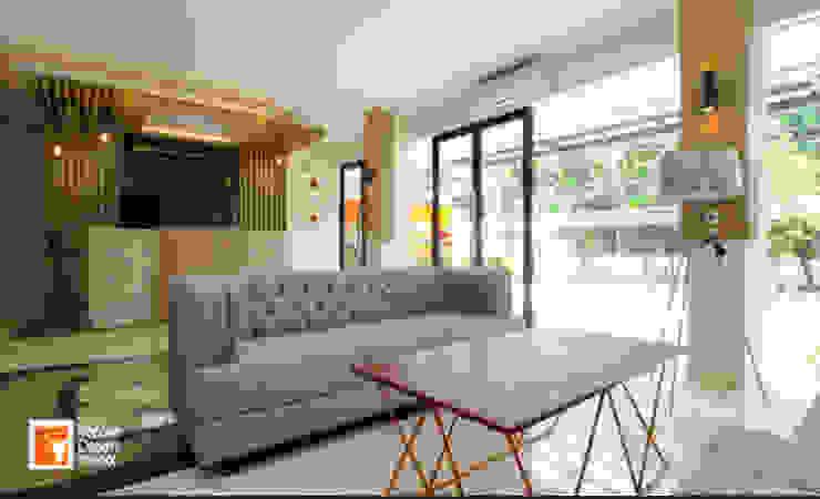 Ruang Lobby Penginapan Syariah Guntur Residence Hotel Minimalis Oleh PT Solusi Eka Optima Minimalis