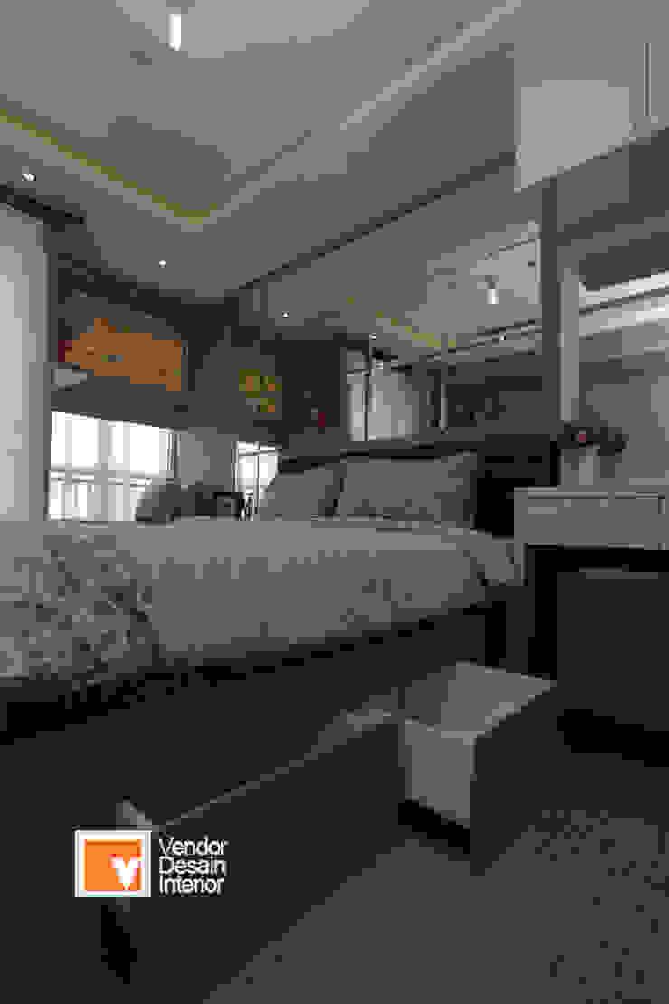 Kamar tidur utama Kamar Tidur Minimalis Oleh PT Solusi Eka Optima Minimalis