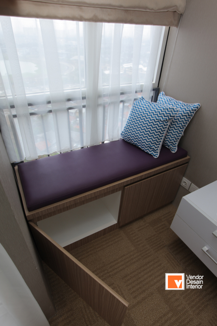 Apartment Bapak Sadeko di Apartemen Tifolia Kamar Tidur Minimalis Oleh PT Solusi Eka Optima Minimalis