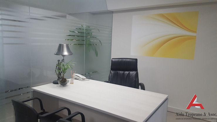 Aida tropeano& Asociados 書房/辦公室桌子