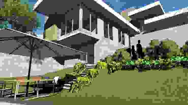 ARUS Associados Ltda. Single family home Multicolored
