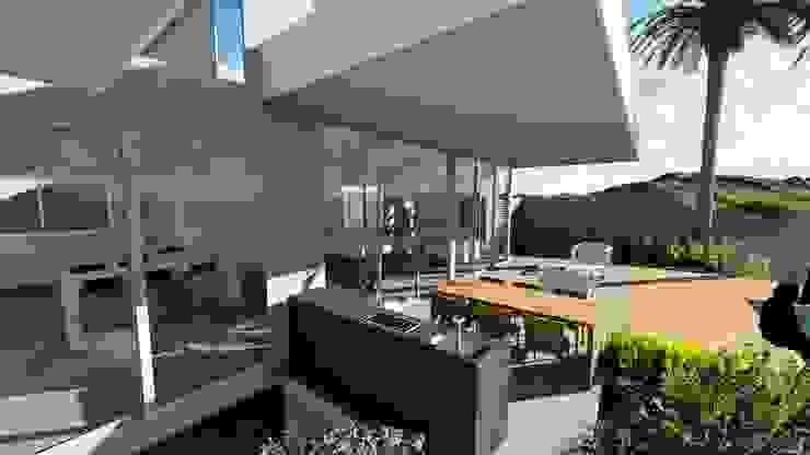 ARUS Associados Ltda. Balcony Multicolored