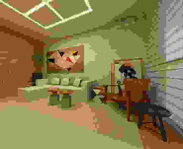 Casa Moderna - Sala Casas modernas por ARUS Associados Ltda. Moderno Ferro/Aço