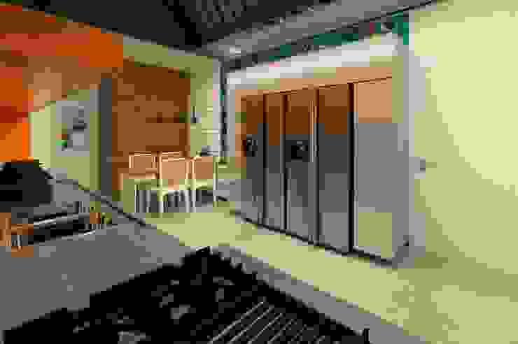 Casa Moderna - Cozinha Casas modernas por ARUS Associados Ltda. Moderno Ferro/Aço