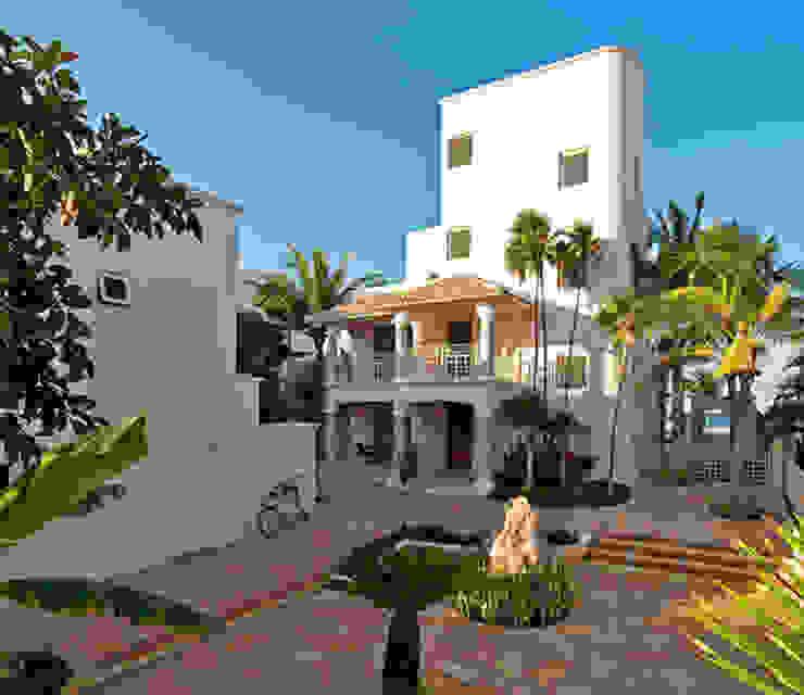 Casa Rosa Modern terrace by AC Construcciones Modern