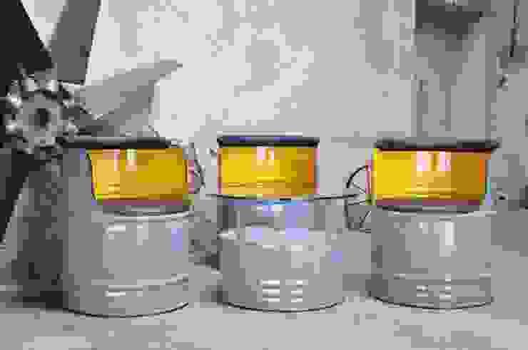 200 Liter Fass Sitzgruppe von Fasszination Customized | homify