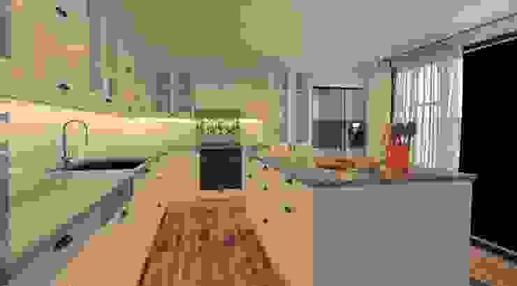 Mutfak Derya Malkoç İç Mimarlık Modern Mutfak Beyaz