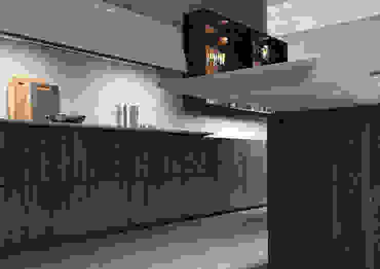 Cucina in ambiente industriale Nespoli 3d CucinaArmadietti & Scaffali