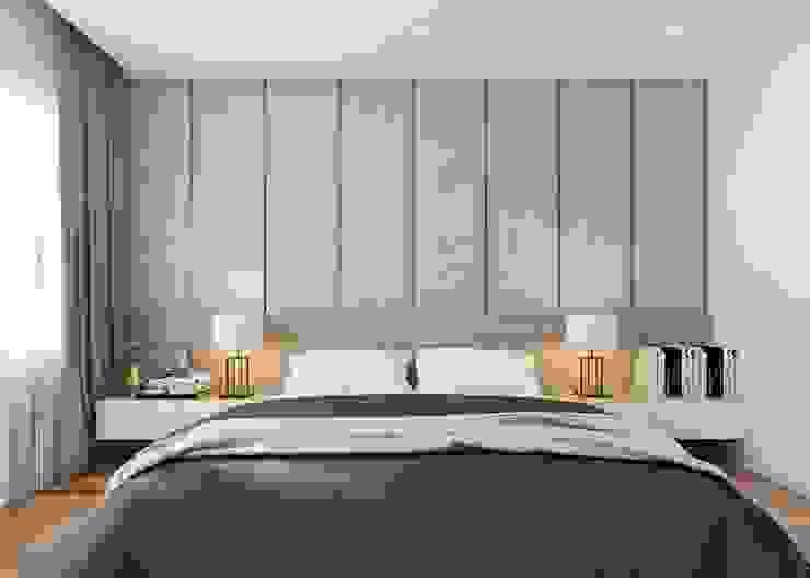 Nội thất phòng ngủ master đẳng cấp Phòng ngủ phong cách hiện đại bởi Công ty TNHH Nội Thất Mạnh Hệ Hiện đại