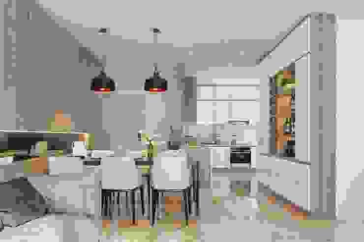 Nội thất phòng bếp Nhà bếp phong cách hiện đại bởi Công ty TNHH Nội Thất Mạnh Hệ Hiện đại