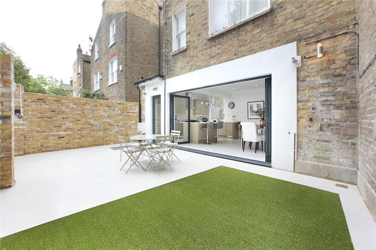 Kitchen extension Richmond by Design and Build London Renovation Modern Bricks