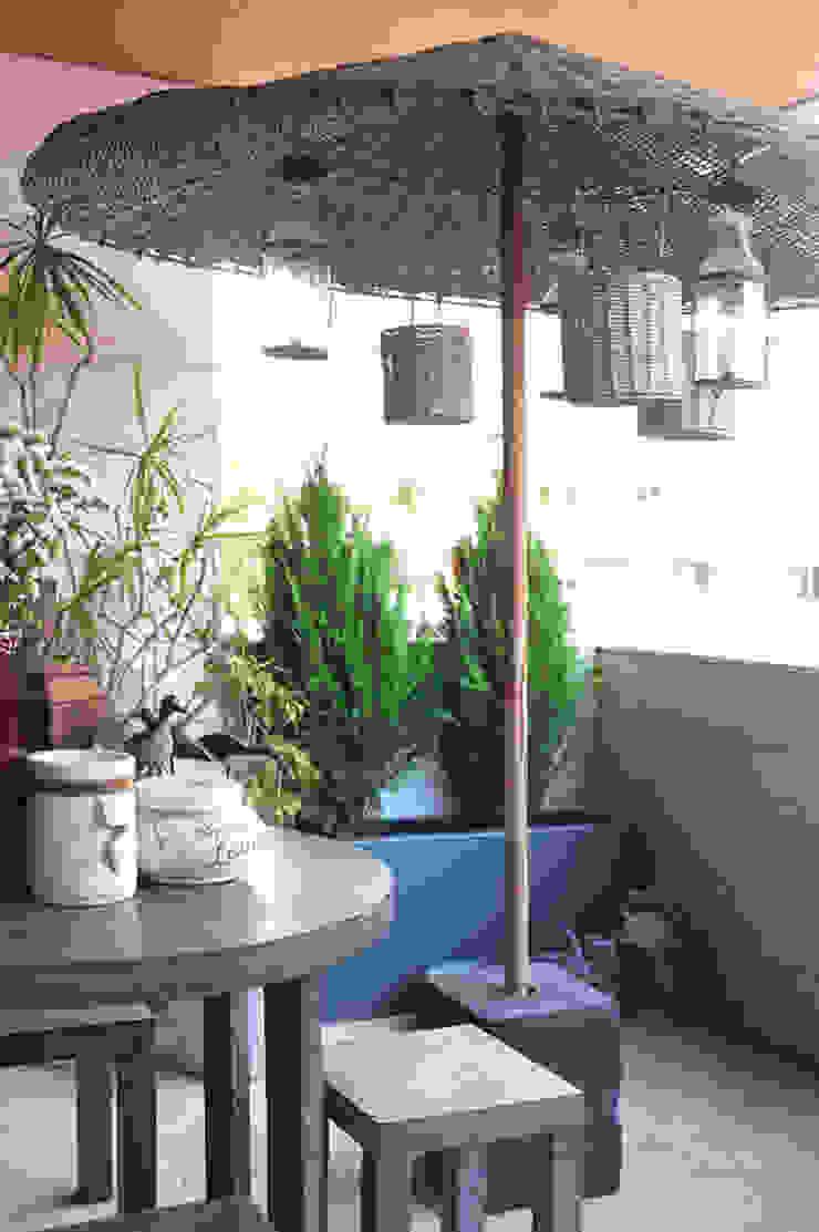 Gavetão- Decoração de Interiores Balcony Concrete Grey