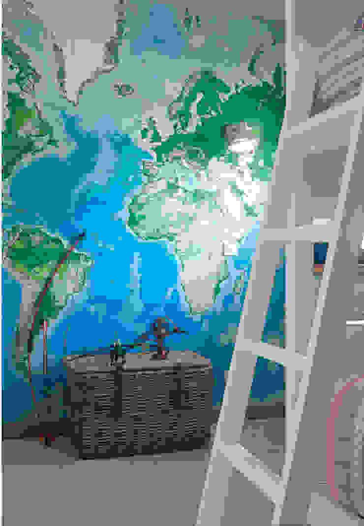 Gavetão- Decoração de Interiores Boys Bedroom Wood Blue