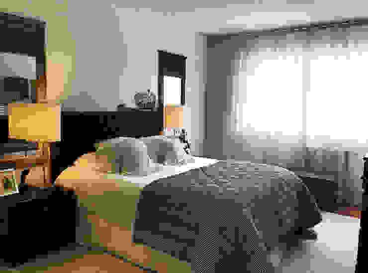 Gavetão- Decoração de Interiores Eclectic style bedroom Wood White