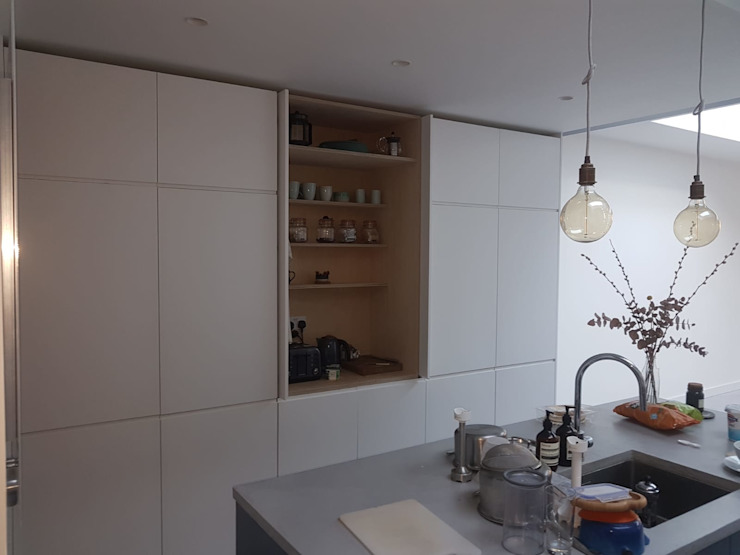 Bespoke House Extension project w4 Modern Kitchen by Design and Build London Renovation Modern