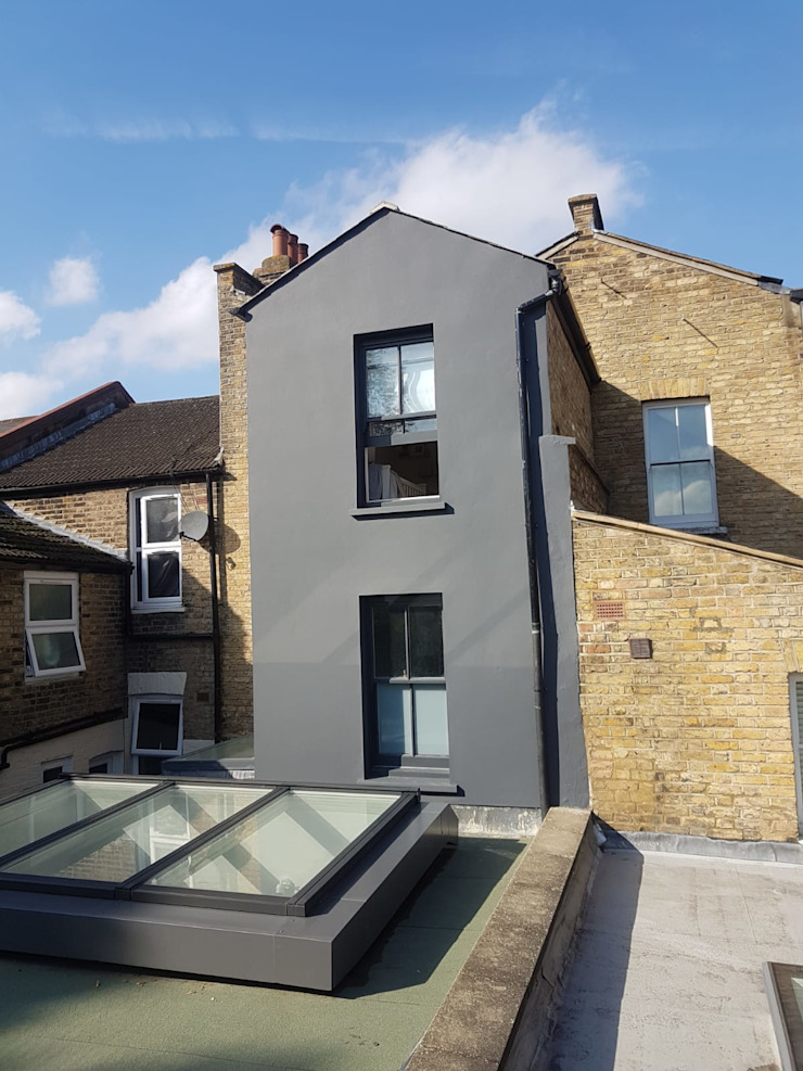 Bespoke House Extension project w4 Design and Build London Renovation Atap