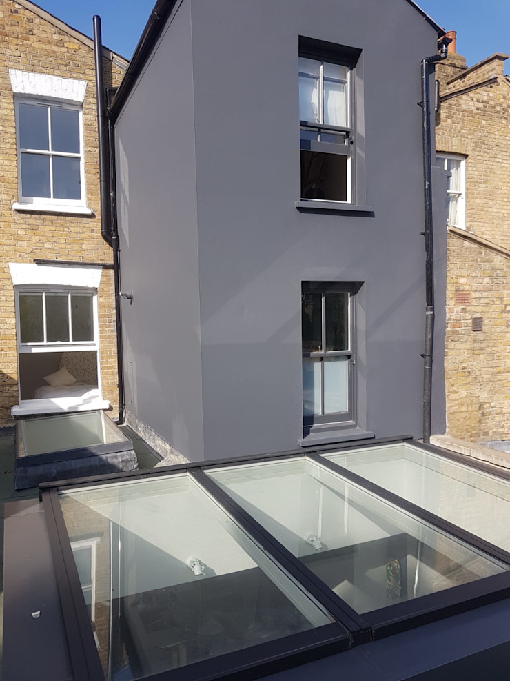 Bespoke House Extension project w4 by Design and Build London Renovation Modern