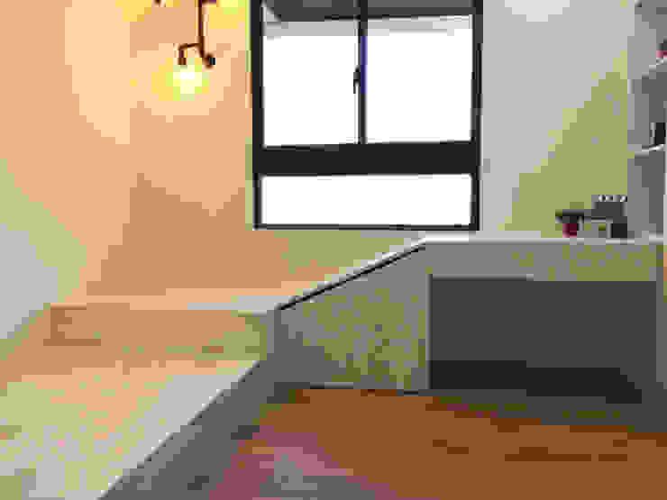 【住家】混搭美學的機能設計 圓方空間設計 小臥室 合板 White