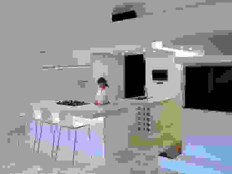 El Cigarral Cocinas de estilo minimalista de RRA Arquitectura Minimalista Mármol