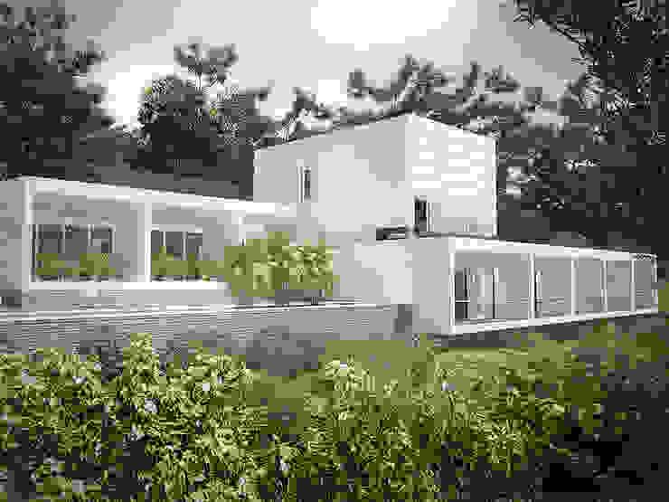 Sonoma de RRA Arquitectura Minimalista Piedra