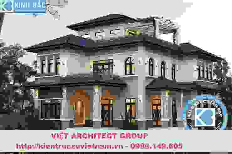 Công trình biệt thự 3 tầng kiến trúc tân cổ điển bởi Việt Architect Group