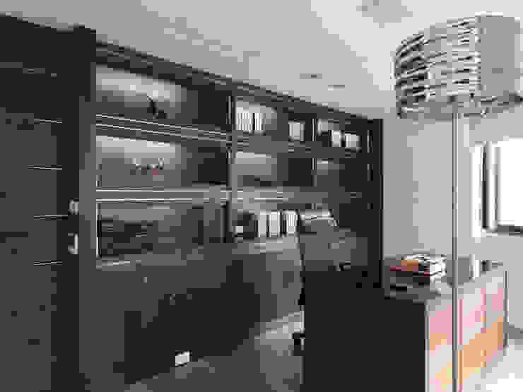 K HOUSE 形構設計 Morpho-Design 書房/辦公室