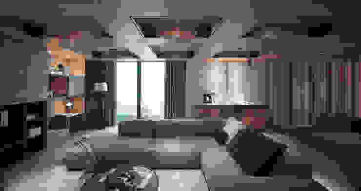 形構設計 Morpho-Design Modern media room
