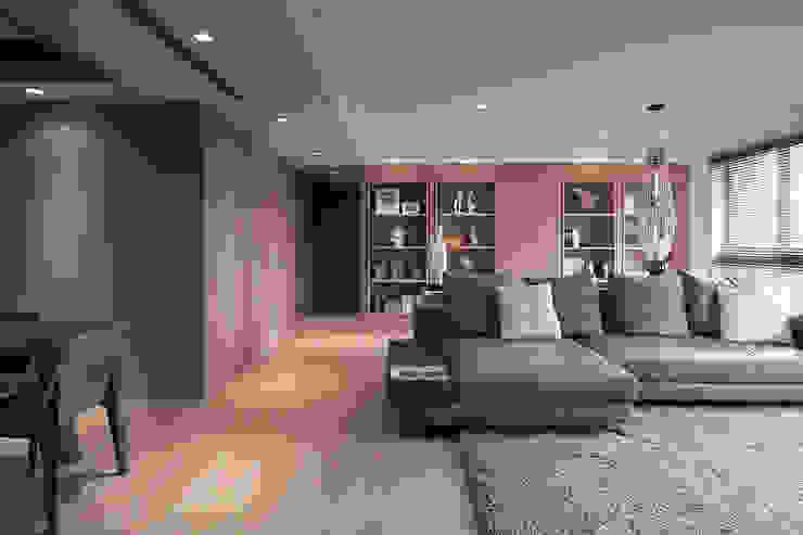 FRAME 現代風玄關、走廊與階梯 根據 形構設計 Morpho-Design 現代風