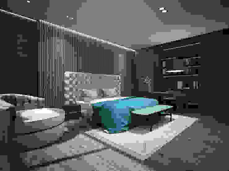 臥房1 根據 竹村空間 Zhucun Design 現代風