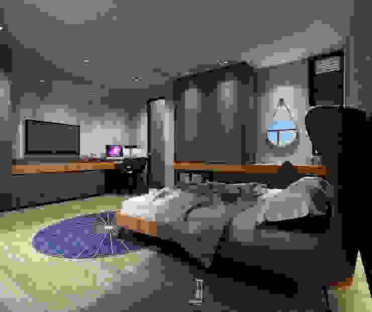 臥室2 根據 竹村空間 Zhucun Design 現代風